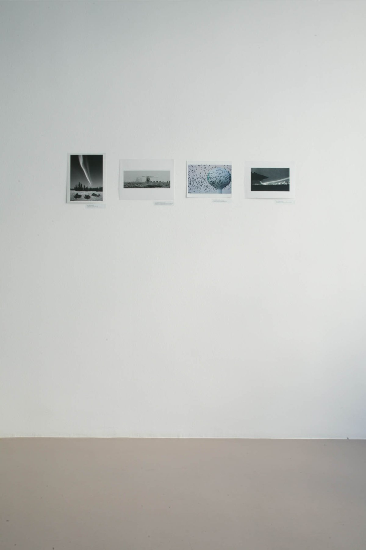Heike Baranowsky: American Skies. February 1 – March 29, 2003