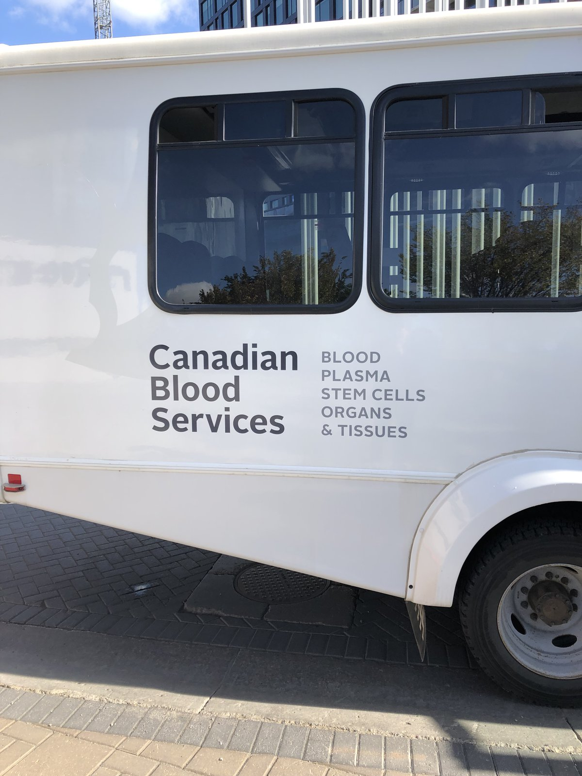 Canadian Blood Services (Blood Donation Transportation), 2019Partnership with Canadian Blood Services