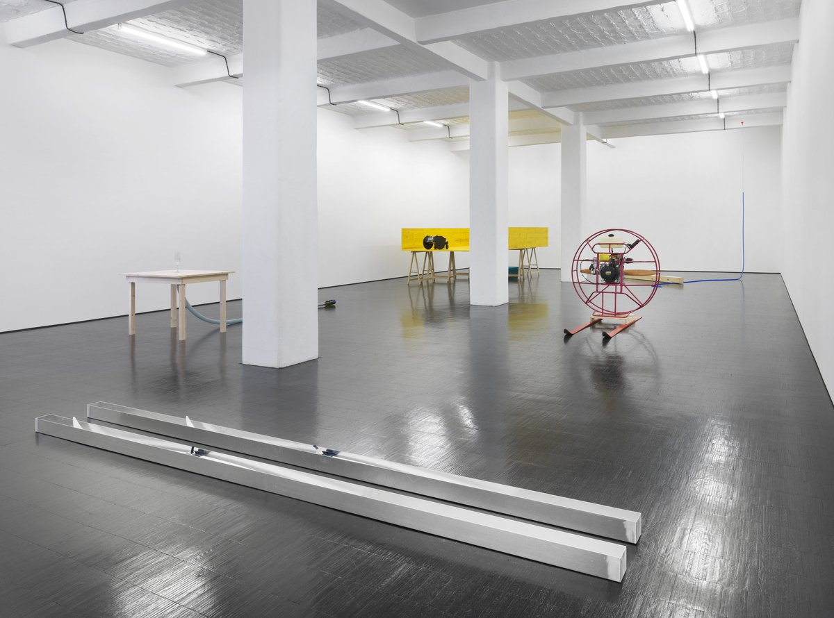 Roman Signer: Neue Skulpturen. December 14, 2013 – February 15, 2014